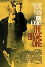 THE BRAVE ONE MOVIE POSTER 2 Sided ORIGINAL 27x40 JODI FOSTER TERRENCE HOWARD