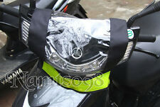 Motorcycle Scooter Top Control Panel Protector Cover Rain Dust/Safety Reflective
