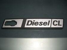 Emblem / Badge Kotflügel rechts Front Wing right Fiat Ritmo Diesel CL 1. Serie