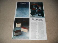Pioneer HPM-200,HPM-100, 60, 40 Speaker Ad, 4 pg, 1976, Article