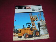Case 584C 585C 586C Construction King Backhoe Dealer's Brochure