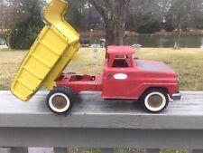 Vintage Pressed Steel Tonka Toys Dump Truck