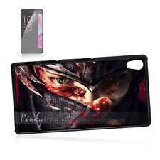 ( For Sony Z3 ) Back Case Cover P11107 Ninja Blood