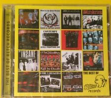 Best Of Retch Records CD NEW SEALED Punk Oi! English Dogs/Insane/Blitz/Varukers+
