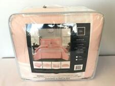 * Chic Home Titian 8-Pc Comforter Set Bed In A Bag Queen Blush Bcs10841 New