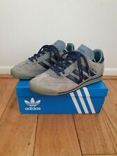 adidas SL76 Vintage Classic Blue Suede Men's Trainers size 7 Very Rare from 1998