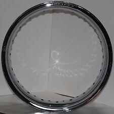 "NEW! AKRONT/MORAD 5.50 x 18"" TR 40 Hole Chrome Rim Harley Davidson & Customs"