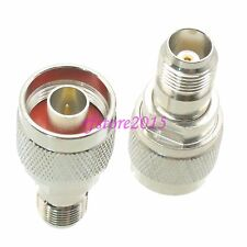 1pce Adapter Connector N male plug to TNC female jack for WiFi Antenna Router