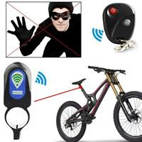Bicycle Alarm Lock Anti-theft With Remote Control Security Lock Accessories JL