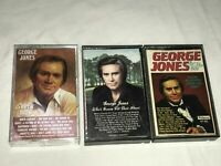 GEORGE JONES SUPER HITS, WHOS GOING FILL THEIR SHOES, HE STOPPED LOVING CASSETTE