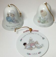 Lot of 3 Precious Moments Christmas Ornaments- See Details - Fast Free Shipping