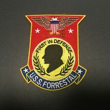 US NAVY USS FORRESTAL PATCH