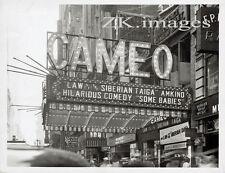CAMEO Theatre CINEMA Façade Movie Taiga Rhodes 1930