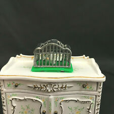 Miniature dollhouse Vintage Bird Cage. 1:12th scale Great old look