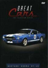 New - GREAT CARS: Mustang Cobra GT-40 DVD