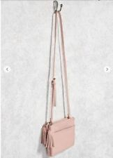 Forever 21 Dual-Zip Crossbody Bag
