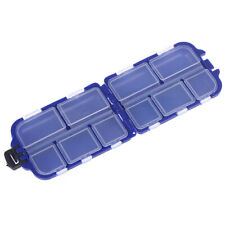 Fishing Lure Compartments Storage Case Box Fish lure Spoon Hook Bait Tackle Niu