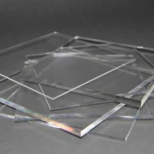 /Ø 250 mm Acrylglas-Zuschnitt Rund beidseitig foliert gepr/üfter UV-Schutz 8 mm stark Kreiszuschnitt aus Acryl als transparente Acrylglas- Plexiglas-Platte bruchfest /& vielseitig anwendbar