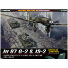 ACADEMY #12539 1/72 Plastic Model Kit Ju 87 G-2 & JS-2 [Special Edition]