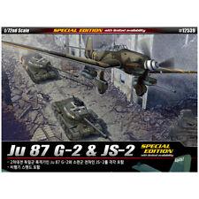 ACADEMY #12539 1/72 Plastic Model Kit Ju 87 G-2 & JS-2 [Special Edition]