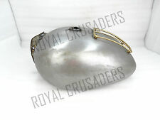 NEW ROYAL ENFIELD 350CC 500CC 4.5 GALLON PETROL TANK WITH BRASS GRILL (CODE1511