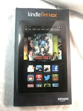 Amazon Kindle Fire HDX 7 (3rd Generation) 32 GB Wi-Fi 7in Black NEW (open Box)