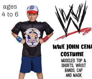 Children's Costume WWE John Cena Size 4-6