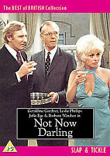 NOT NOW DARLING (1973 Leslie Phillips) - DVD - REGION 2 UK