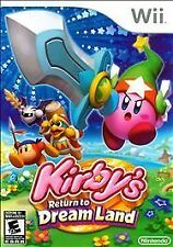 Kirby's Return to Dream Land (Nintendo Wii, 2011)   GAME ONLY