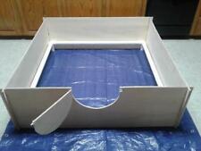 "Whelping Box Large 40"" x 40"" W /Pvc Railing + Liner /Dog Puppy Pen Free Shipping"