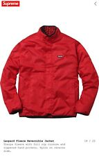 Supreme Red Fleece Reversible Jacket - Size Large *Sold Out*