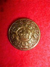 Canada Militia King's Crown Button, 25 mm Dia. 1901-24 Canadian, Smylie Gs-1c