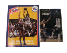 1985-86 Philadelphia 76ers Official Yearbook Statistical Yearbook MINT