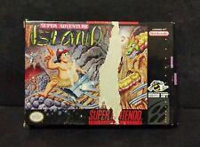 Super Adventure Island (Super Nintendo Entertainment System, 1992) SNES Box Only