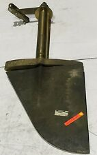 Marine Rudder With Shaft , Bronze , Shaft OD:79mm. Overall L: 1353mm.