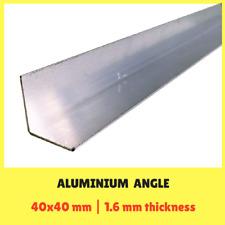 Aluminium Angle 40x40x1.6mm 6.5m long Mill Finish