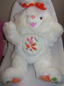 Dan Dee Collectors Choice Plush Easter Bunny Rabbit White Hoppy Hopster