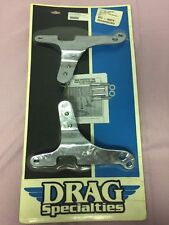 DRAG SPECIALTIES SISSY BAR SIDE PLATES FOR HARLEY DAVIDSON 97-98 FLHR-DS-263633A
