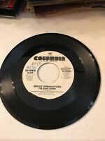 BRUCE SPRINGSTEEN I'M GOIN' DOWN 45 RECORD PROMO DEMONSTRATION