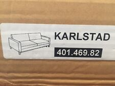 IKEA Karlstad Sofa Bed Sleeper Korndal Green Couch NEW Sage Slip COVER ONLY