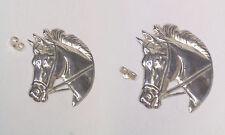 Cavallo, Equitazione, ORECCHINI a lobo in Argento 925