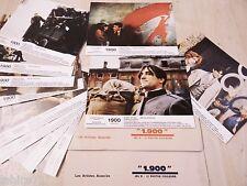 1900 ! b Bertolucci  Robert De Niro jeu 24 photos cinema lobby cards 1974