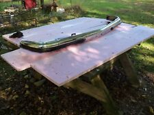 mercedes w123 owners euro bumper used original front  300d 240d 300cd 280ce
