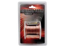 Câble Haut Parleur Transparent 2 x 1 mm² Longueur 15 Métres