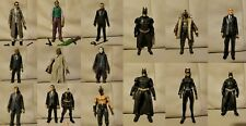 The Dark Knight Trilogy Batman Mattel Movie Masters set of 15 figures lot