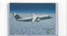 Albanian Airlines issued BAe-146-200 cont/l  postcard #1