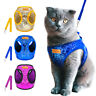Sequins Cat Walking Jacket Harness & Leash Puppy Kitten Clothes Adjustable Vest