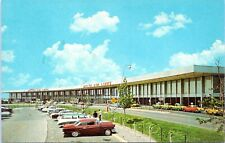 JFK Airport United Airlines Delta Terminal 1964 Chrome New York City Postcard