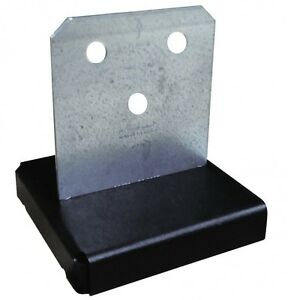 Simpson Strong-Tie Concealed Post Base Galvanised Steel CPT44Z/CPT66Z/CPT88Z