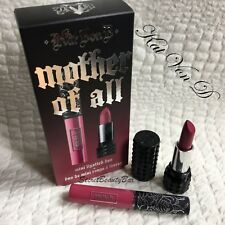 Genuine KAT VON D Mother Of All Mini Lipstick Duo ✯ Liquid Lipstick & Lipstick